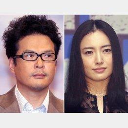 田中哲司と仲間由紀恵(C)日刊ゲンダイ