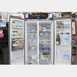 パノラマオープン冷蔵庫AQR-SBS45F(アクア)/(C)日刊ゲンダイ