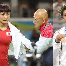 リオ五輪ではすでに師弟関係は破たん(右の田南部コーチはアテネで銅メダルを獲得)