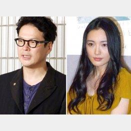 夫・田中哲司と仲間由紀恵(C)日刊ゲンダイ