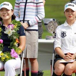 ワン・ツー・フィニッシュはイ・ミニョン(左)とユン・チョヨンの韓国勢