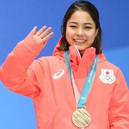 高梨は銅メダルでこの笑顔