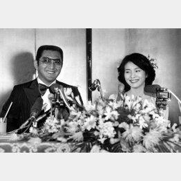 1979年、松方弘樹と仁科明子(現・仁科亜季子)は結婚する/(C)日刊ゲンダイ