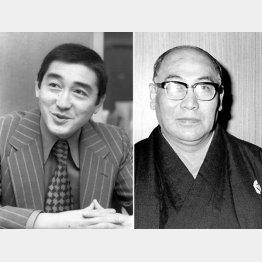 松方弘樹と尾上松緑(C)共同通信社