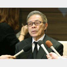 亡き息子について語った北島三郎(C)日刊ゲンダイ