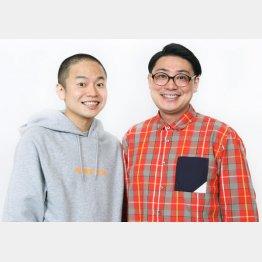 ゾフィーの上田航平(左)とサイトウナオキ(提供写真)
