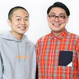 ゾフィーの上田航平(左)とサイトウナオキ