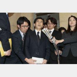 ようやく辞任した佐川長官(C)日刊ゲンダイ