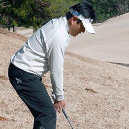 つま先下がりは腰落とす 攻撃失敗したら即守りのゴルフへ