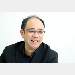 作家の矢月秀作さん(C)日刊ゲンダイ