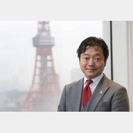エボラブルアジア社長の吉村英毅氏(C)日刊ゲンダイ