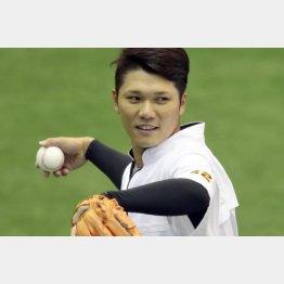 ジャイアンツ球場で調整していた坂本(C)日刊ゲンダイ