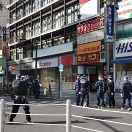 井手尾被告に警官が発砲した大阪市都島区の路上