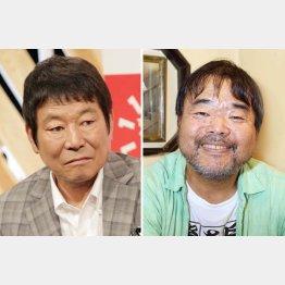 ダンカン(左)やグレート義太夫は大丈夫?/(C)日刊ゲンダイ