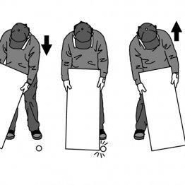 肩を上下に動かすとショートパットが劇的に安定する