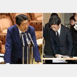 巨大な権力を握る恐ろしさ、おぞましさ(右は佐川宣寿氏)/(C)日刊ゲンダイ