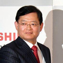 東芝の会長兼CEOに就く車谷暢昭氏