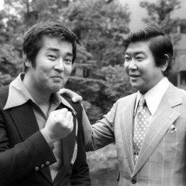 石原裕次郎(右)と渡哲也
