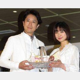 篠田麻里子も「谷原さんのような男性と子育てしたい」(C)日刊ゲンダイ