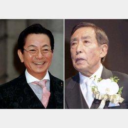 水谷豊(左)と故・藤田まこと/(C)日刊ゲンダイ