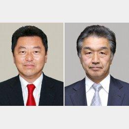 池田佳隆衆院議員(左)と赤池誠章参院議員/(C)共同通信社