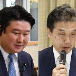 和田政宗議員(左)と赤池誠章議員