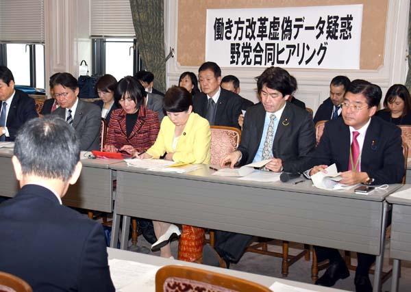 野党の追求でインチキ発覚(C)日刊ゲンダイ