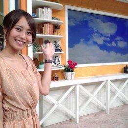日本テレビアナウンサー時代の上田まりえさん
