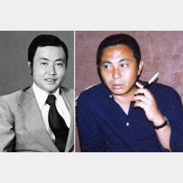 80年代当時の倉本氏(左は故鹿内春雄氏)/(F.C.S.提供)