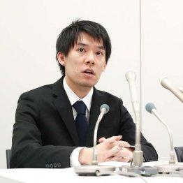 コインチェック・和田社長(C)共同通信社