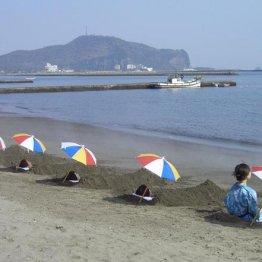 鹿児島指宿温泉 浜辺の絶景露天風呂と砂蒸しでリラックス