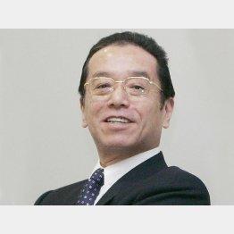 """""""天皇""""と呼ばれ…(和田氏)/(C)共同通信社"""