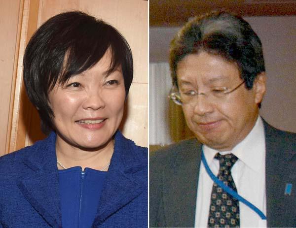 昭恵夫人と今井秘書官(C)日刊ゲンダイ