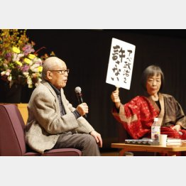 戦争体験を語り続けた金子さんの「聞き手」を務めてきた(C)日刊ゲンダイ