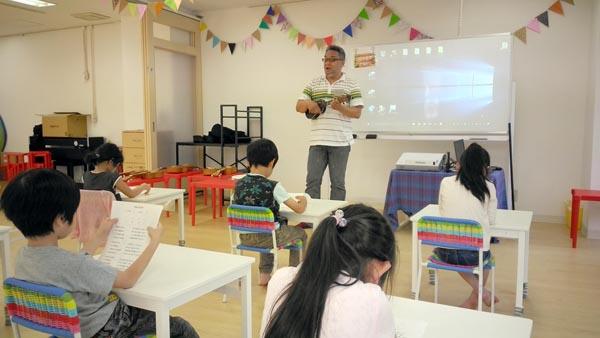 YES International School横浜校の授業風景(提供写真)
