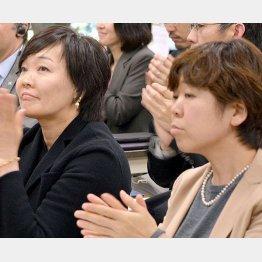 あの人も東大卒のノンキャリア(安倍昭恵夫人と谷査恵子首相夫人付秘書)(C)日刊ゲンダイ