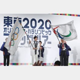 2018年から東京五輪で行われるさまざまな競技でのプレ大会が開催(C)共同通信社