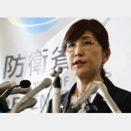 稲田朋美元防衛相の国会答弁は「虚偽」だった(C)日刊ゲンダイ