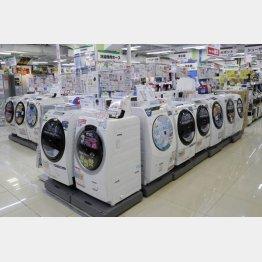 洗濯機は買い(C)日刊ゲンダイ