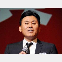 三木谷会長は「Eコマースに聖域はない」と言うが…/(C)日刊ゲンダイ