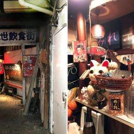 町田駅北口 人影まばらな細路地に昭和30年始業の小料理屋
