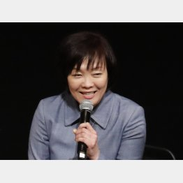 対談相手も巻き添え(C)日刊ゲンダイ