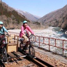 廃線サイクリングに天下の奇祭 GWは岐阜県飛騨市で楽しむ