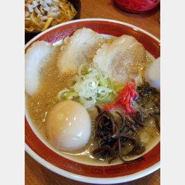 「麺屋一徳」の豚骨白SP/(C)日刊ゲンダイ