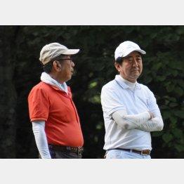 15年9月には一緒にゴルフも…(C)日刊ゲンダイ