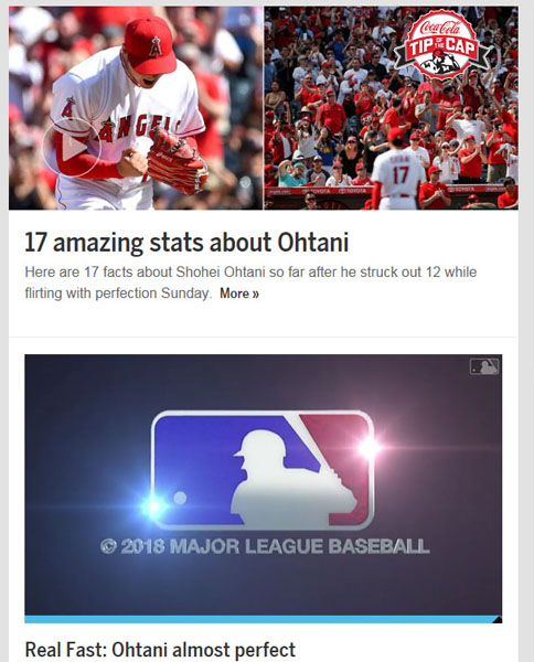 「MLB」HP