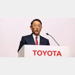 豊田社長も力を入れ始めている(C)日刊ゲンダイ
