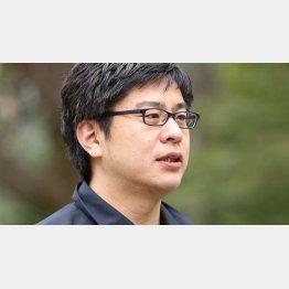 ワセダクロニクルの渡辺周編集長(C)日刊ゲンダイ