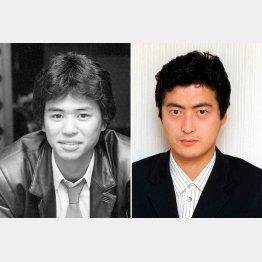 80年代当時の時任三郎(左)と陣内孝則/(C)共同通信社