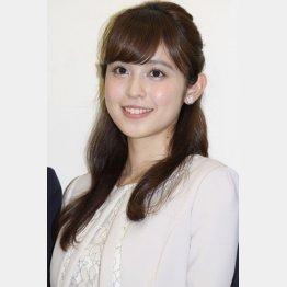 久慈暁子アナはフジ期待のホープ(C)日刊ゲンダイ